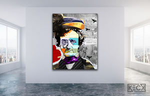 edgar allan poe pop art