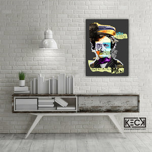 Load image into Gallery viewer, edgar allan poe canvas print
