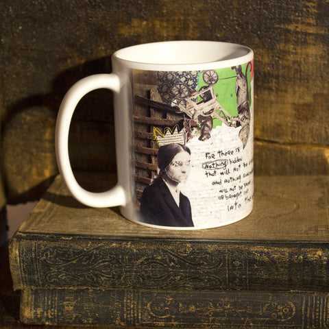 Mixed Media Art Coffee Mug: Into the Open