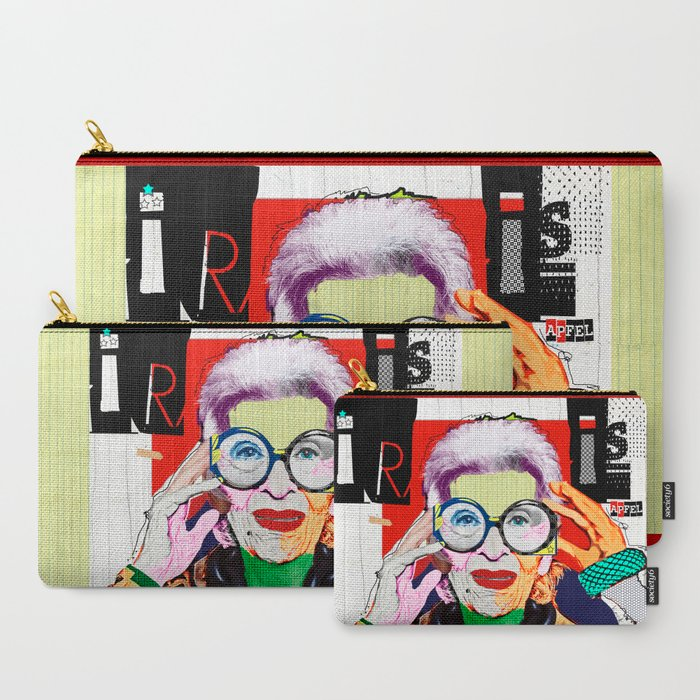 Iris Apfel Carry-All Pouch by Michel Keck