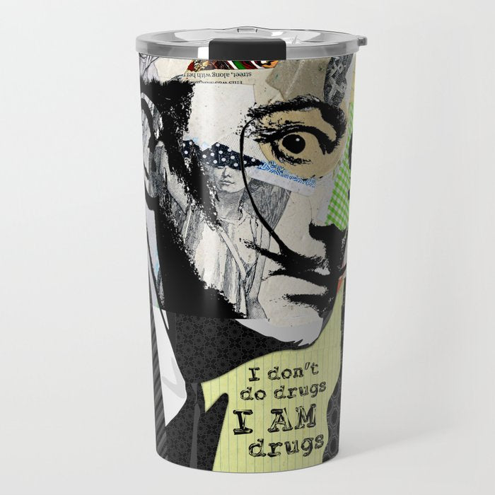 Salvador Dali Art Travel Mug