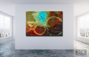 #060532<br> Serenity Prayer XII <br> Canvas Print