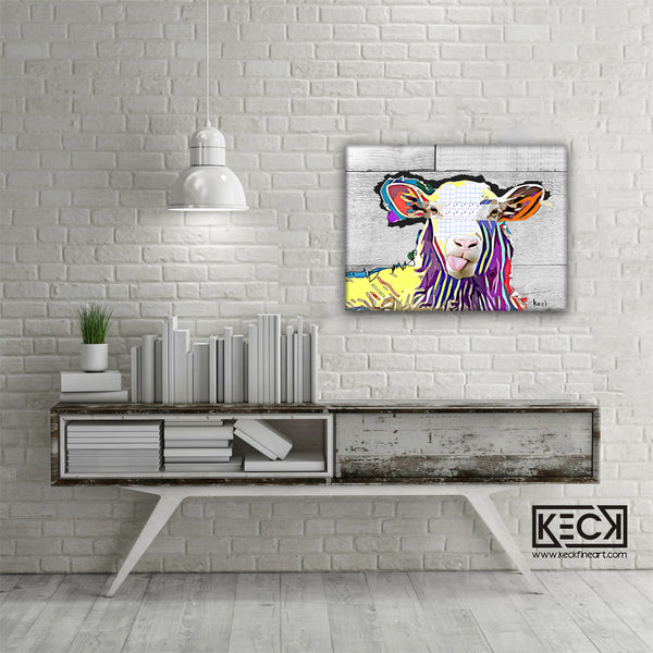 farm animal art