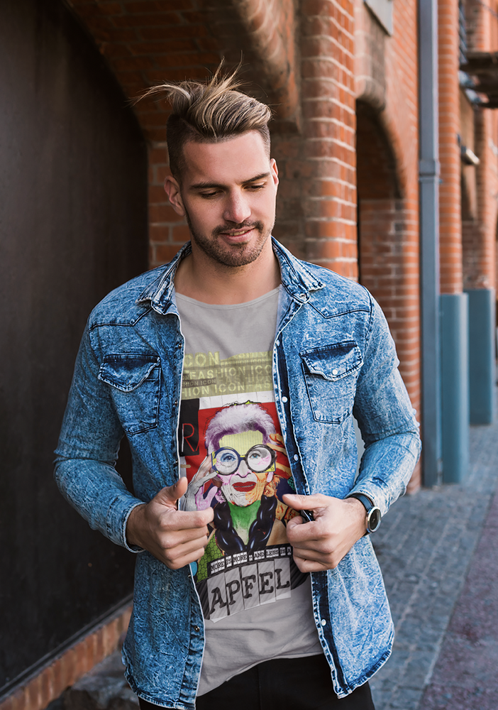 Iris Apfel T-Shirt <br> Men's & Women's Fitted Tees