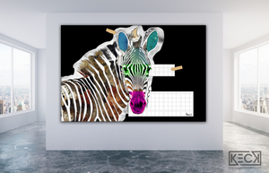 Load image into Gallery viewer, zebra art