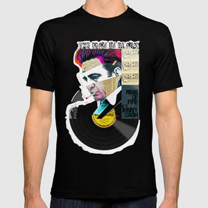 Johnny Cash T-Shirt <br> Men's & Women's Fitted Tees