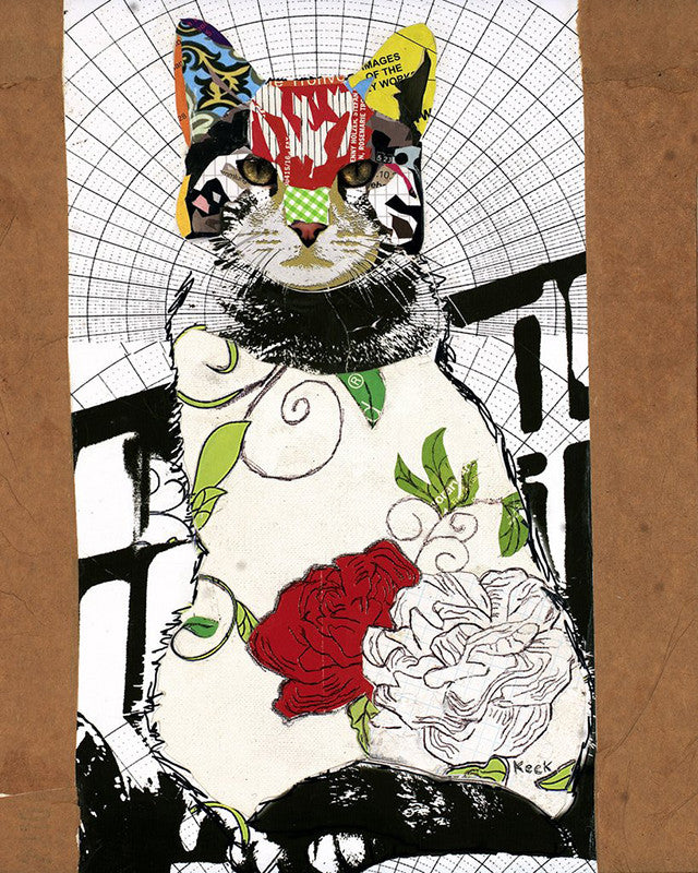 Cat I <br> Canvas Art Print