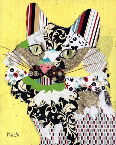 ANIMAL ART Canvas Print of Cat II