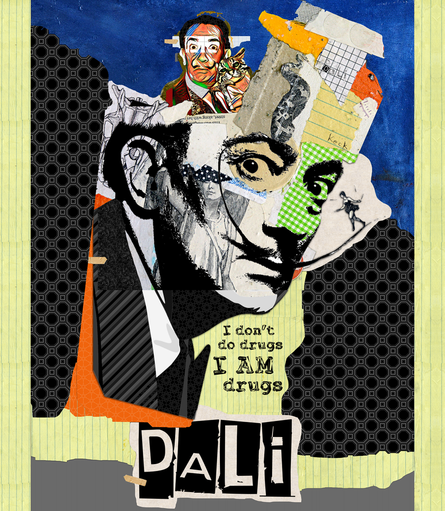 Load image into Gallery viewer, Salvador Dali Throw Blanket
