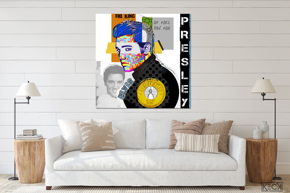 Load image into Gallery viewer, Elvis Presley -square