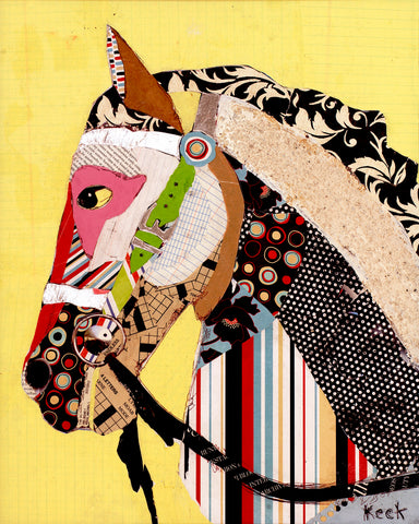 Horse II <br> Animal Art Canvas Print