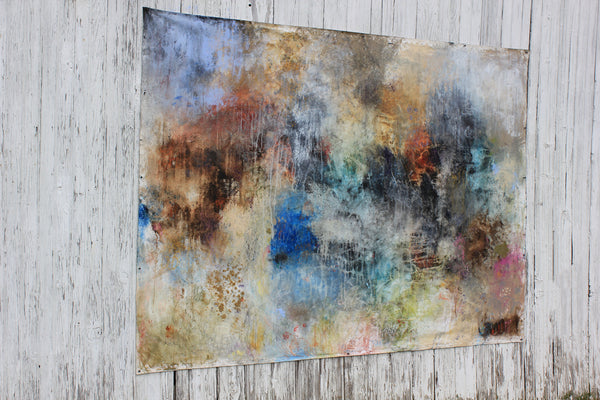 LARGE ABSTRACT ART. BIG ART FOR BIG SPACES!!