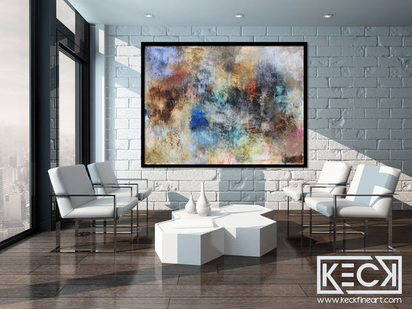 Large Art for Large Walls.  Huge Abstract Art Paintings. Big Mixed Media Art for Large Spaces.  Huge Collage, Abstract and Mixed Media Paintings.