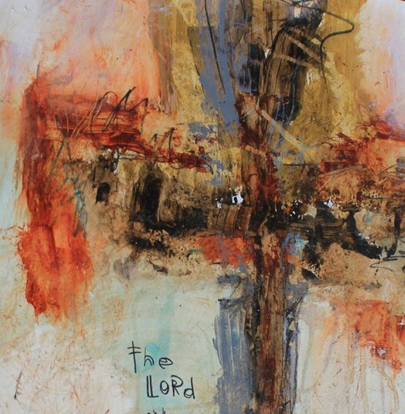 CROSS ART PRINTS. Abstract Cross Art Print of Psalm 121:8 #071604