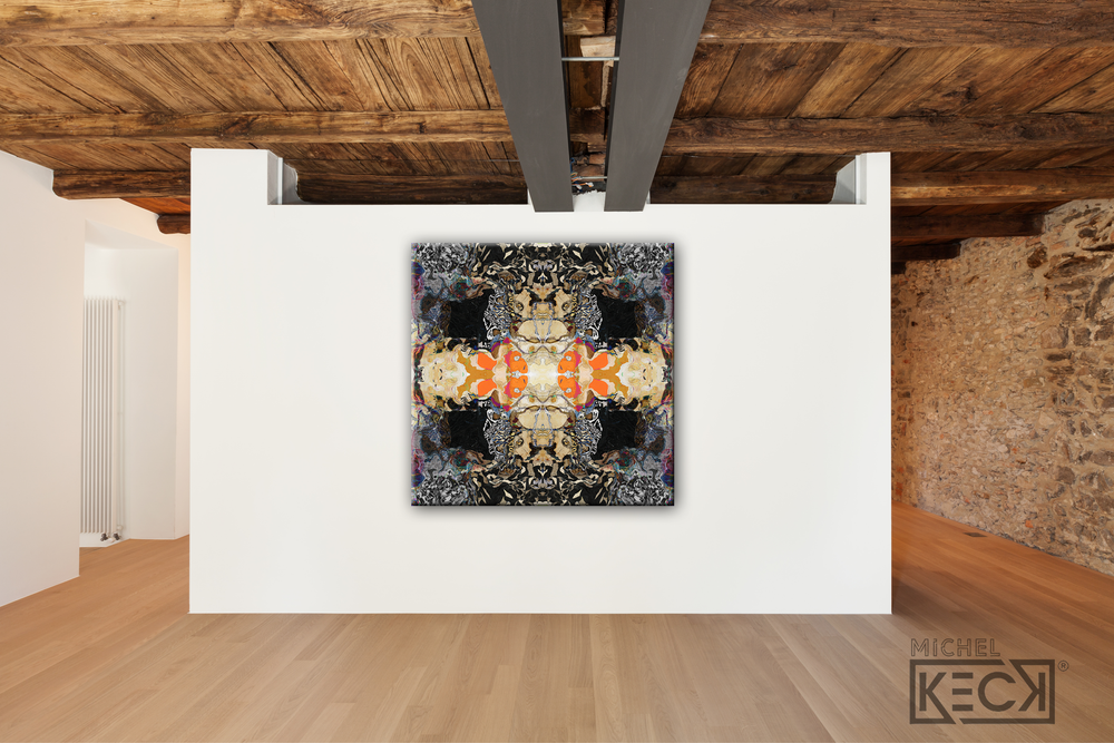 #DCRS1-50 <br> Echo Collection L <br> Canvas Art Print
