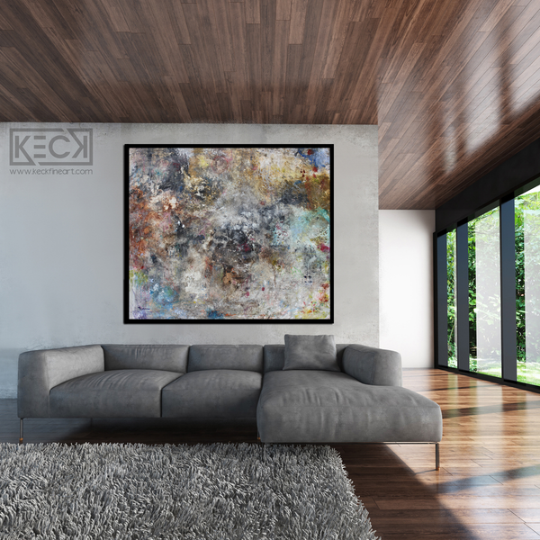 Big Art for BIG Spaces.  Large Contemporary Abstract Art Paintings for Huge Spaces.