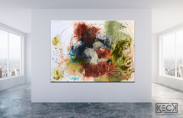 Large abstract art prints for interior design projects