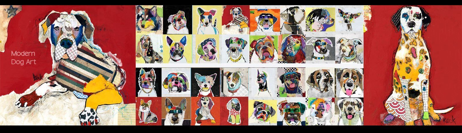 Michel Keck® Dog Art