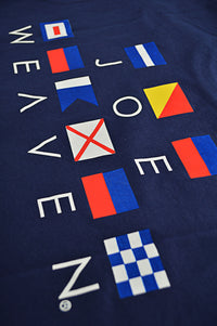 Close up nautical flags design T-Shirt