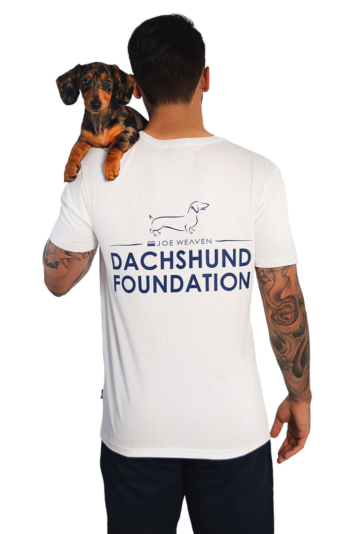 Dachshund Foundation T-Shirt White
