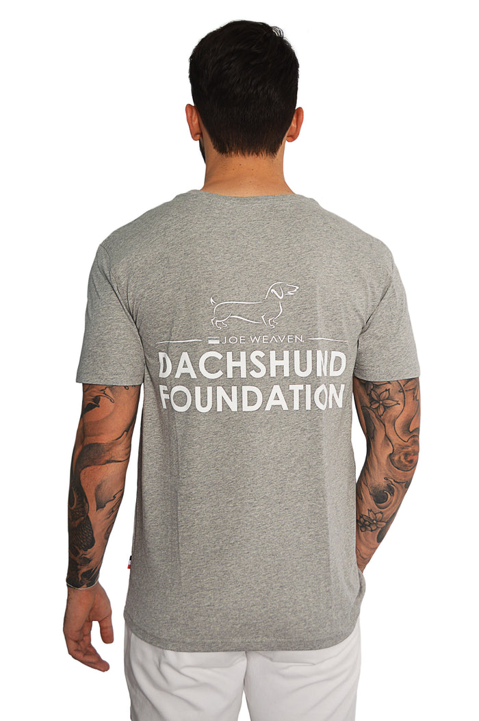 Dachshund Foundation T-Shirt Grey