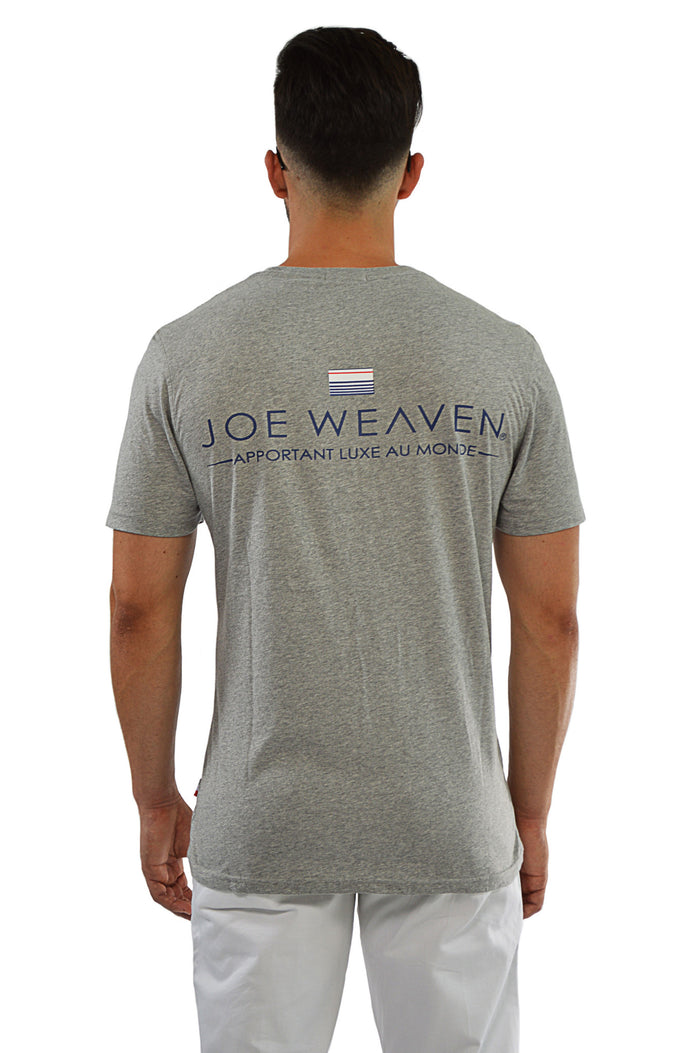 Back view original joe weaven logo T-Shirt