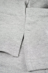 Close up side split polo