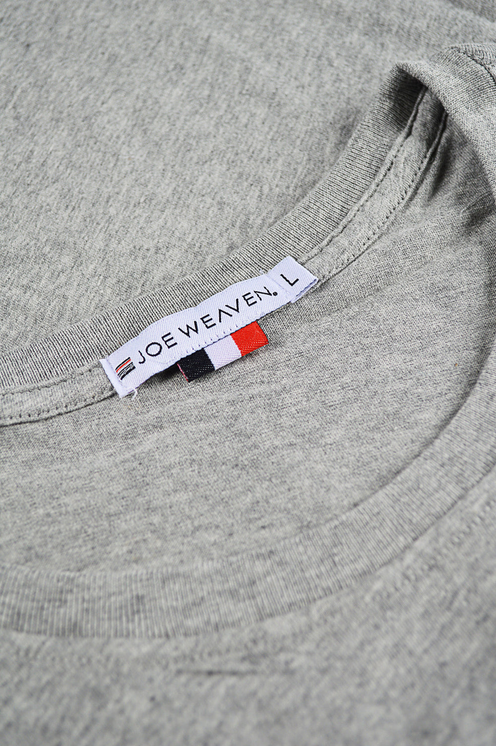 collar grey t-shirt