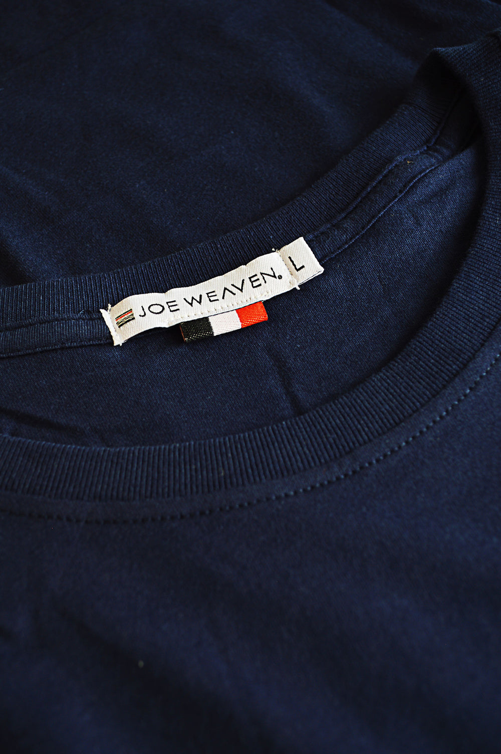 collar navy t-shirt