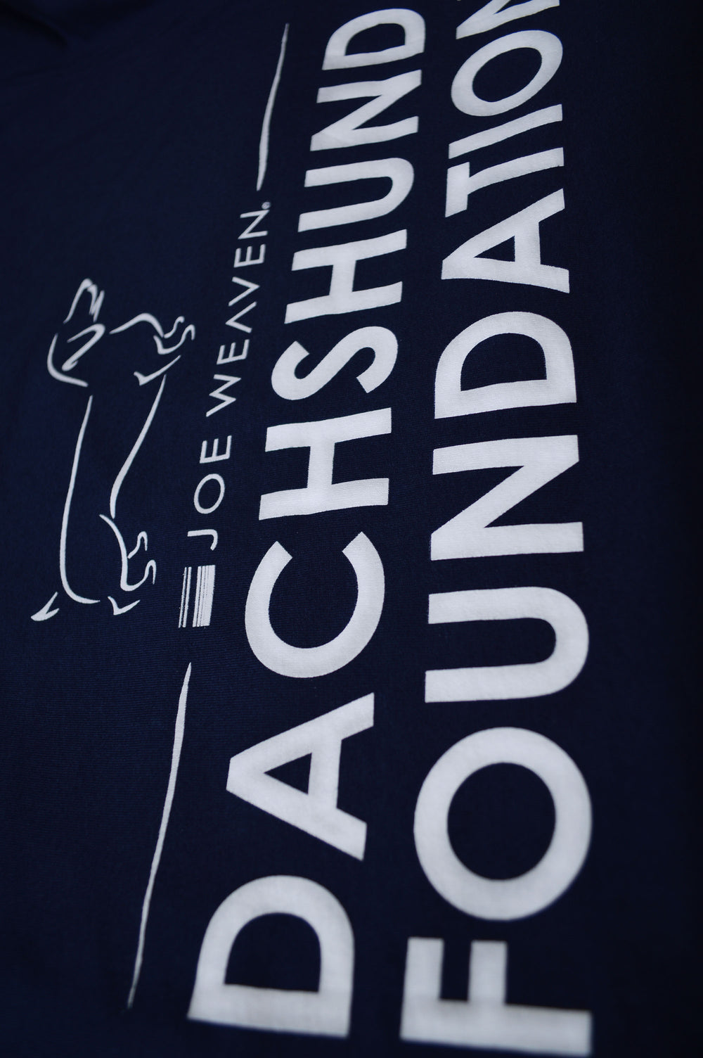 Dachshund Foundation T-Shirt Navy