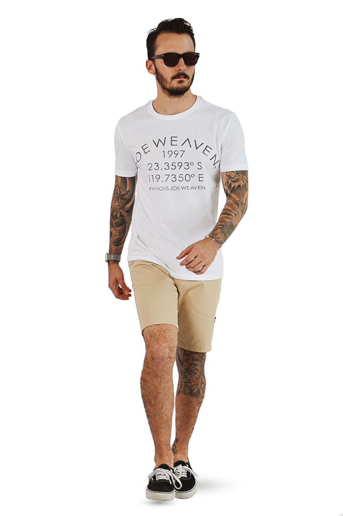 Joe Weaven white design T-Shirt