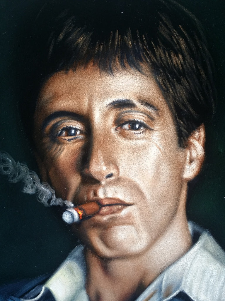 Tony Montana Portrait ...