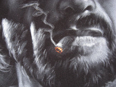 "Clint Eastwood portrait, The Outlaw Josey Wales ,  Original Oil Painting on Black Velvet by Enrique Felix , ""Felix"" - #F48"