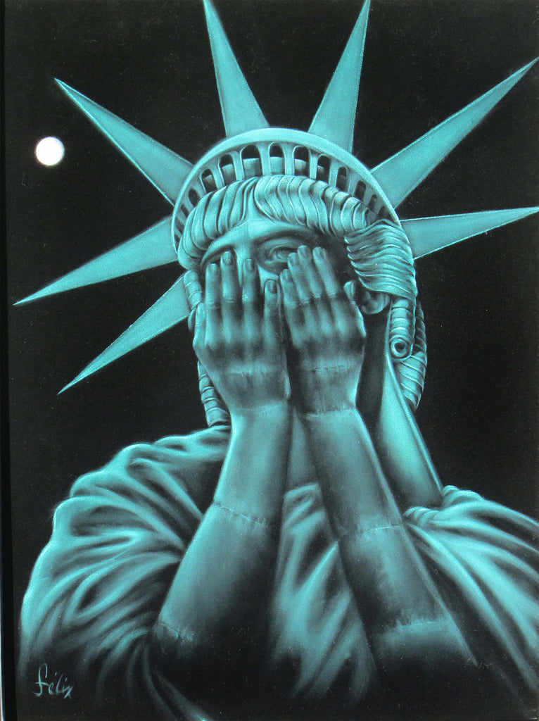 Image result for image of liberty crying