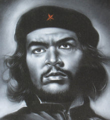 "Che Guevara,  Original Oil Painting on Black Velvet by Enrique Felix , ""Felix"" - #F136"