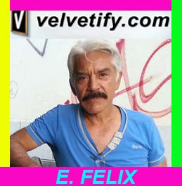 Felix Template; Original Oil Painting on Black Velvet by Enrique Felix , #F000