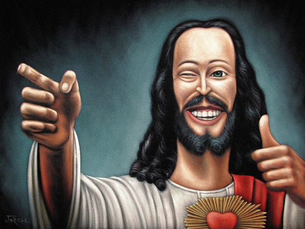 Buddy Christ From Dogma Movie - Art Print