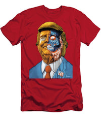Donald John Trump, They Live, Obey Zombie 4tee - Men's T-Shirt (Athletic Fit)