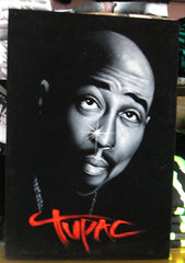 Tupac Shakur portrait; 2Pac  ; Original Oil painting on Black Velvet by Zenon Matias Jimenez- #JM98