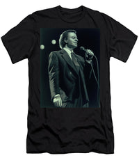 Julio Iglesias Portrait Singing Stage - Men's T-Shirt (Athletic Fit)