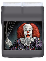 Pennywise The Dancing Clown Or Bob Gray - Duvet Cover