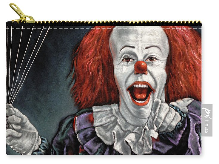 Pennywise The Dancing Clown Or Bob Gray - Carry-All Pouch