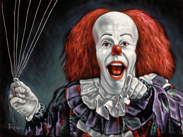Pennywise The Dancing Clown Or Bob Gray - Art Print