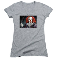 Pennywise The Dancing Clown Or Bob Gray - Women's V-Neck T-Shirt