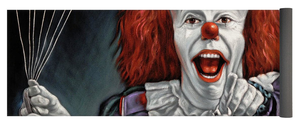 Pennywise The Dancing Clown Or Bob Gray - Yoga Mat