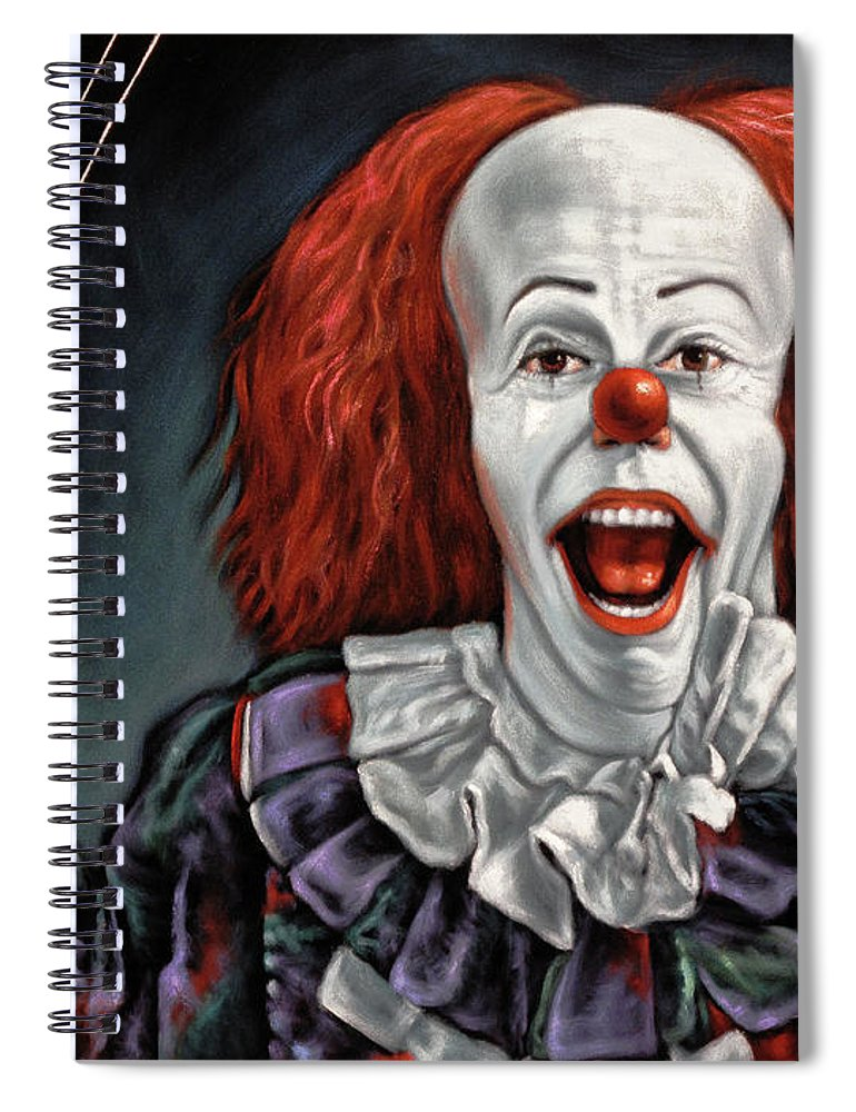 Pennywise The Dancing Clown Or Bob Gray - Spiral Notebook