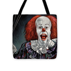 Pennywise The Dancing Clown Or Bob Gray - Tote Bag