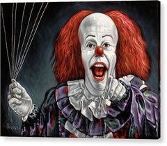 Pennywise The Dancing Clown Or Bob Gray - Acrylic Print