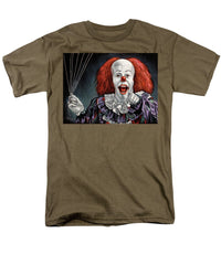 Pennywise The Dancing Clown Or Bob Gray - Men's T-Shirt  (Regular Fit)