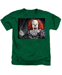Pennywise The Dancing Clown Or Bob Gray - Kids T-Shirt